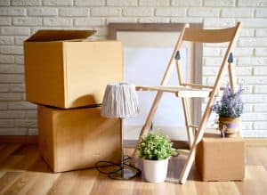 chair-with-moving-boxes