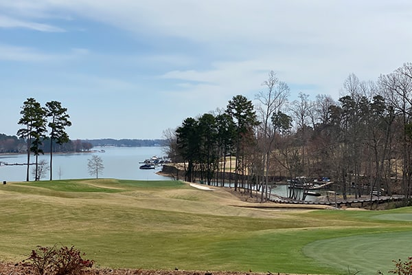 the point lake norman